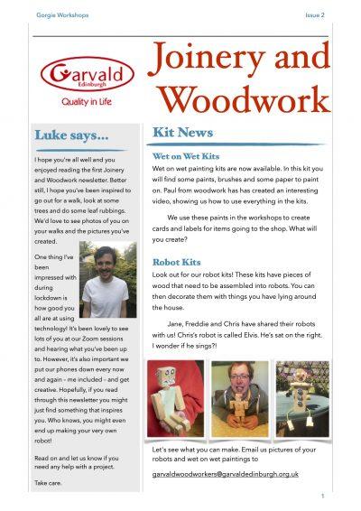 Newsletter Issue 2 pg1