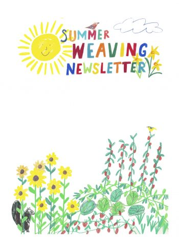 summer-weaving-newsletter-